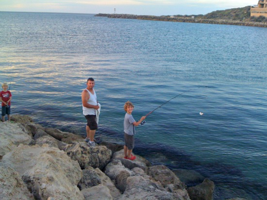 Kids Fishing Mandurah