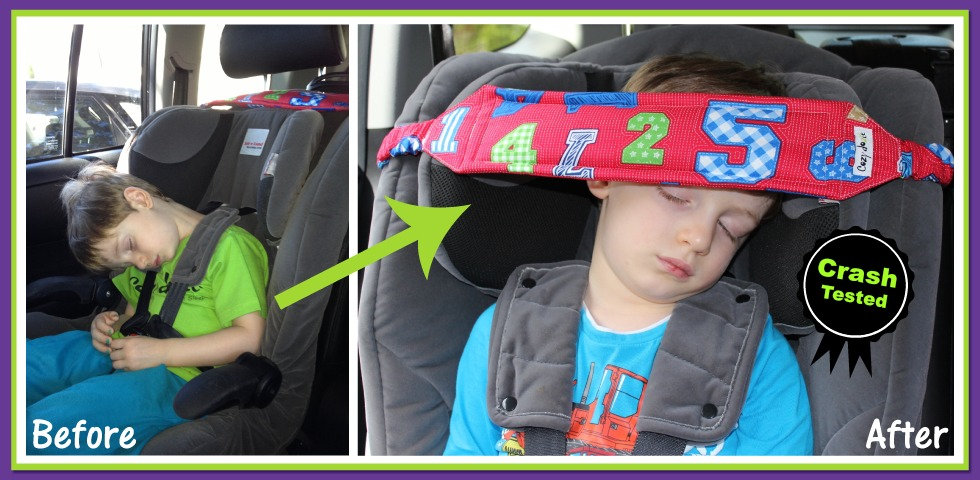 Cozy Dozee Is A Gentle Head Support For Sleeping Children In The Car It Helps Correct Your Childs Neck Posture So You Can Concentrate On Driving