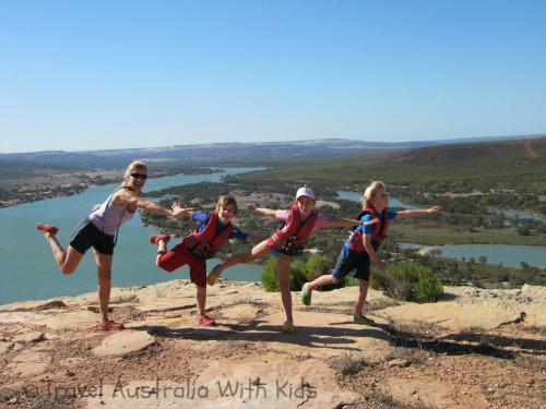 travelling australia with kids blog