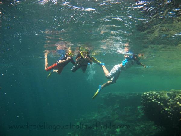 Snorkelling Ningaloo Reef