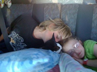 The sleeping kidletts!