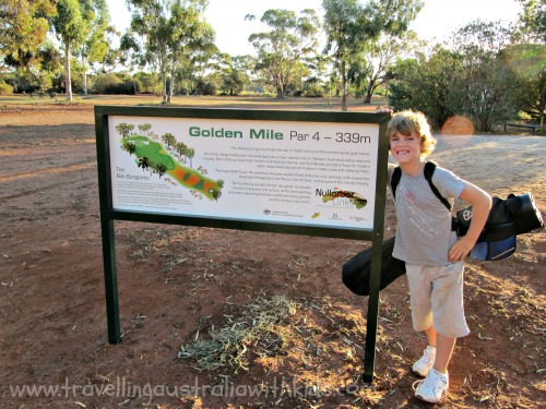 The Golden Mile Hole